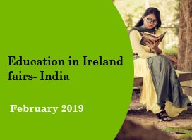 Education in Ireland fairs - India February 2019