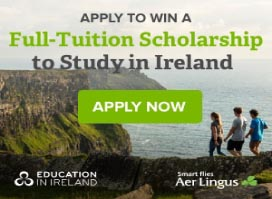 Apply to Win a Full-Tuition Scholarship