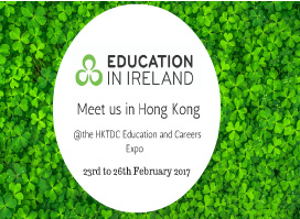 Meet Us in Hong Kong at the HKTDC Education and Careers Expo