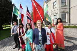 The Education in Ireland International Student Ambassador Awards Ceremony 2015