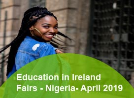 Education in Ireland Fairs - Nigeria, April 2019